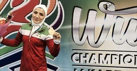 صدیقه دریایی نخستین طلایی ایران در جام جهانی ووشو