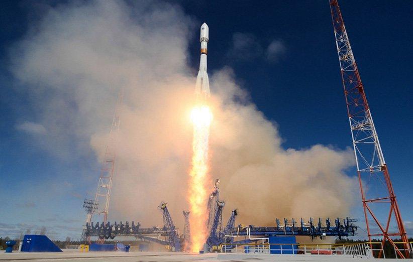 موشک سایوز چند ماهواره زیست محیطی را در مدار قرار داد