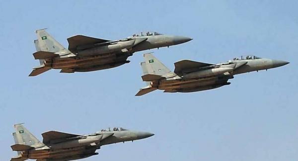 خبرنگاران حمله هوایی ائتلاف سعودی به صنعا