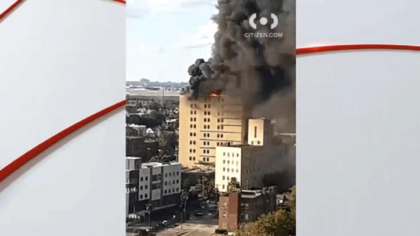 وقوع آتش سوزی در بیمارستان سنت جونز در نیویورک